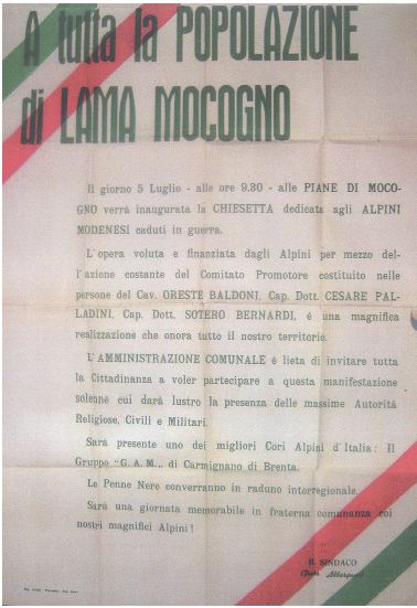 12 - - 1964 - LAMA MOCOGNO 1