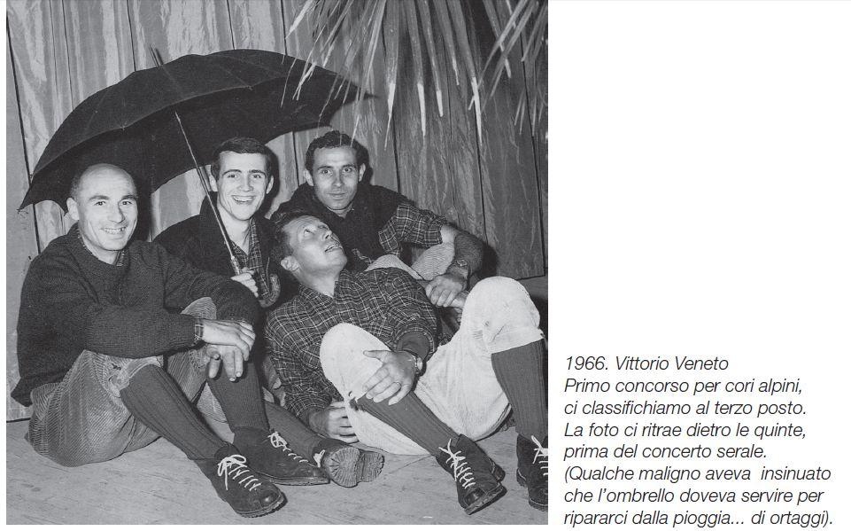 17 - 1966 - VITTORIO VENETO I°CONCORSO PER CORI ALPINI
