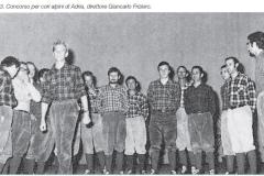 25 -1973 CONCORSO PER CORI ALPINI DI ADRIA, DIRETTORE G. CARLO FRIZIERO