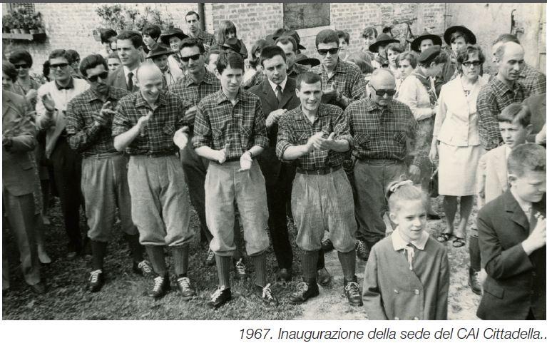 18 -1967 -   CAI CITTADELLA INUGURAZIONE SEDE