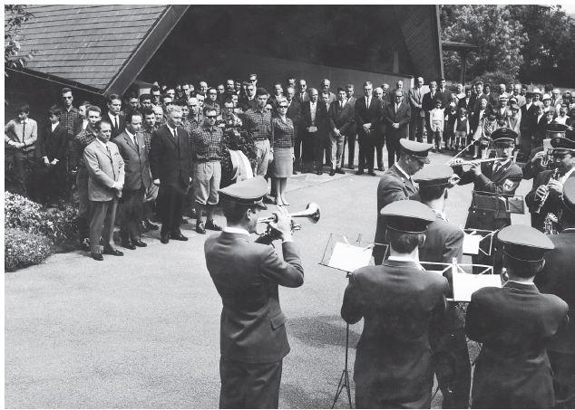 21 A -1967 ALBBRUCK ALTRO MOMENTO DELLA CERIMONIA
